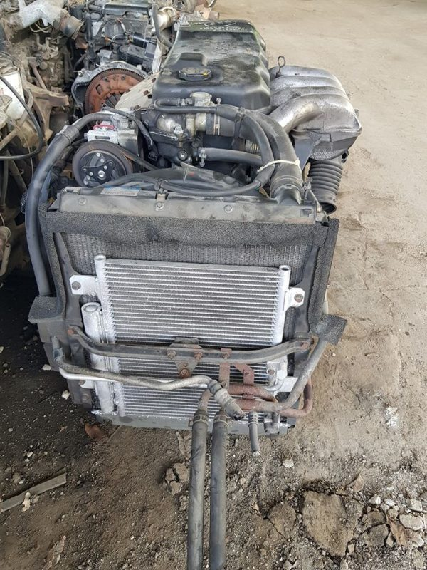 Mitsubishi 4D33 EFI engine.