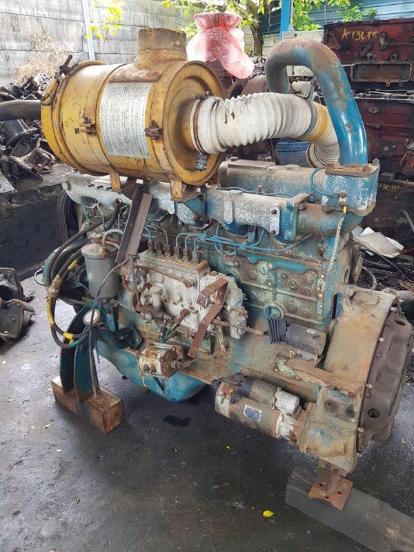 Nissan PD6 Turbo Engine
