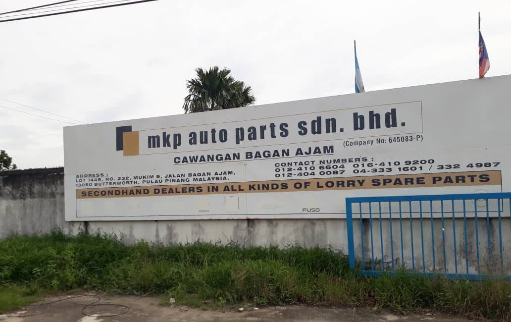 Used Lorry Spare Parts in Butterworth, Malaysia
