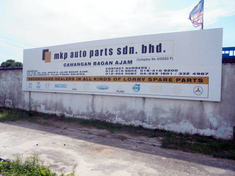 Used Imported Lorry Spare Parts in Butterworth, Malaysia