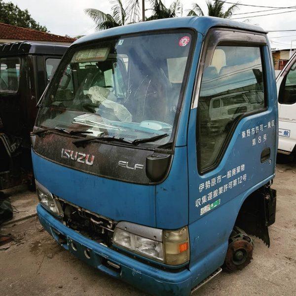 Isuzu 4HG1 Gas engine Front Cut (1 Ton)