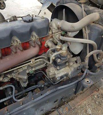 Hino H07C Engine.