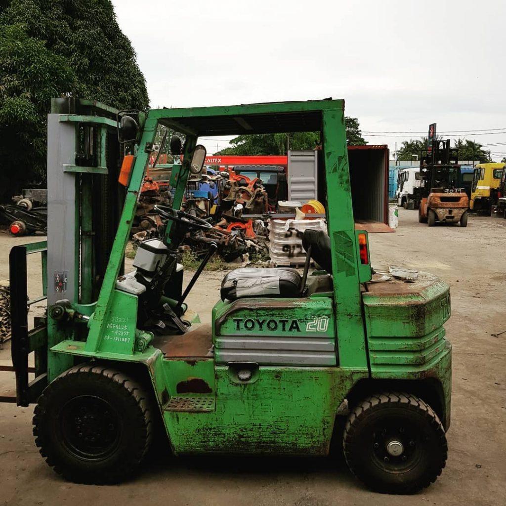 Used Forklift For Sale -Toyota 2 Ton Petrol Forklift