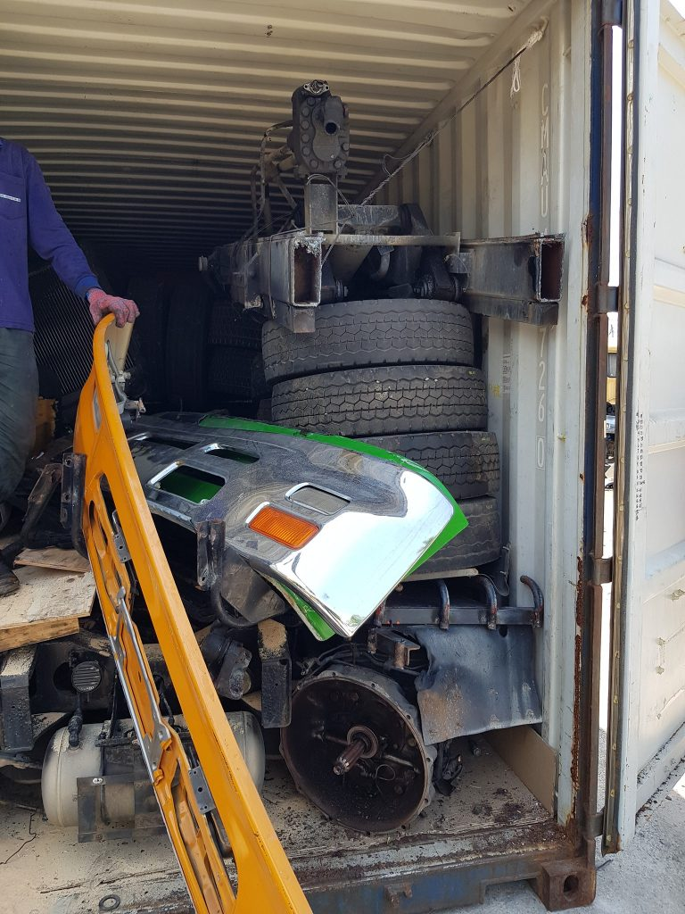 Used Lorry Spare Parts, Butterworth, Malaysia Importing Directly