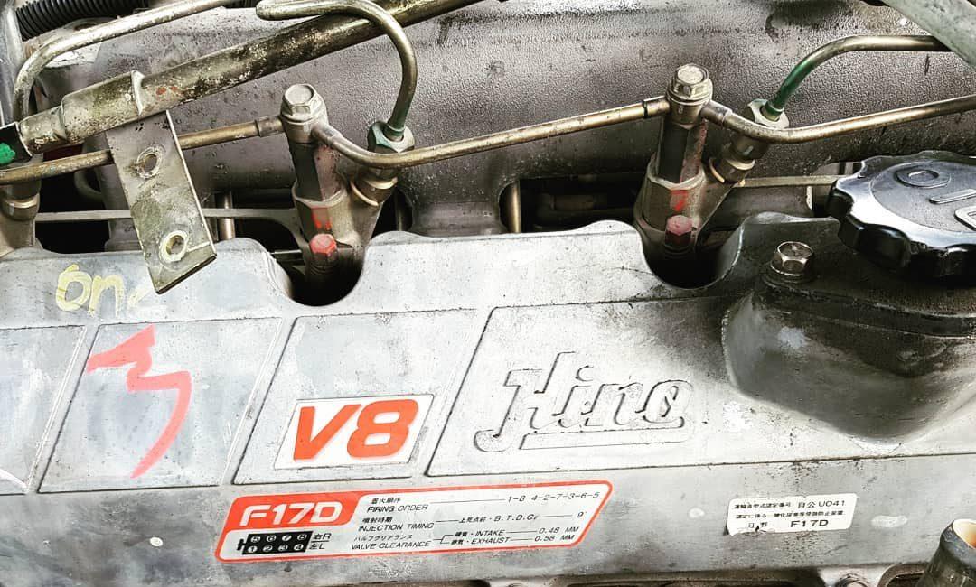 Hino-F17D-Profia-engine Japan-imported