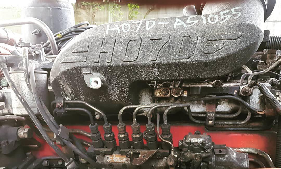 Hino-H07D-Engine