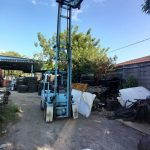 Mitsubishi 3 Ton Petrol Forklift at Butterworth, Malaysia