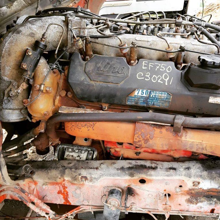 Hino EF750 Engine